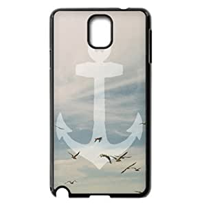 Sailor Anchor Use Your Own Image Phone Case for Samsung Galaxy Note 3 N9000,customized case cover ygtg574294