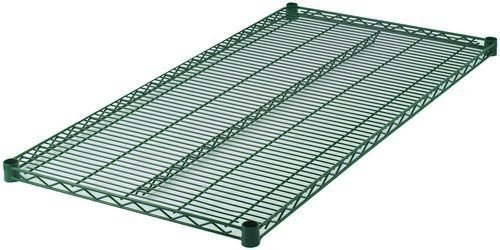 Winco Epoxy Coated Wire Shelves, 24-Inch by 48-Inch