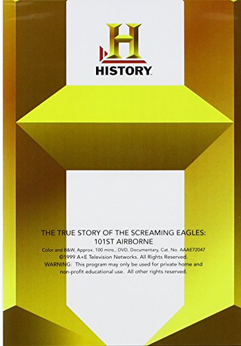 True Story of the Screaming Eagles: 101st Airborne [Importado]