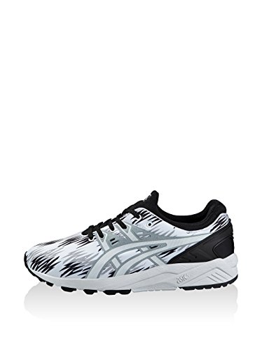 Asics Gel-Kayano Trainer Evo - Scarpe da Ginnastica Basse Unisex – Adulto, Rosa (Knockout Pink/Light Grey 2013), 44 EU Nero/Bianco