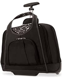 K62533US Contour Balance Notebook Roller Bag in Onyx, Fits Most 15-Inch Notebooks