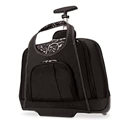 Kensington K62533US Contour Balance Notebook Roller Bag in Onyx, Fits Most 15-Inch Notebooks