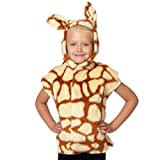 Giraffe Costume for kids. One Size 3-9 Years. by Charlie Crow