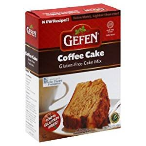 Gefen Coffee Cake Mix Gluten Free Kosher For Passover 14 oz. Send off of 1.