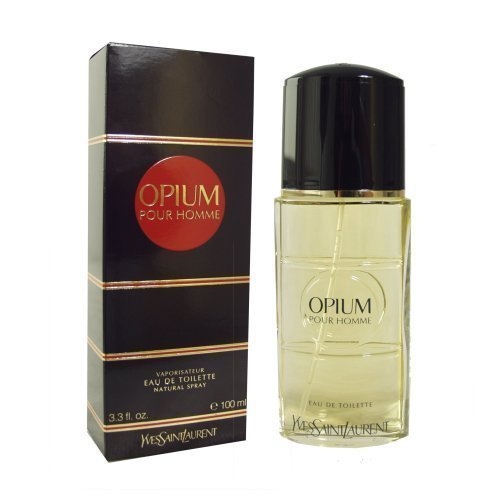 Yves Saint Laurent Opium pour Homme Eau de Toilette, 100 ml/ 3.3 fl oz (for men). (Saint Parfum Homme Pour Yves Laurent)