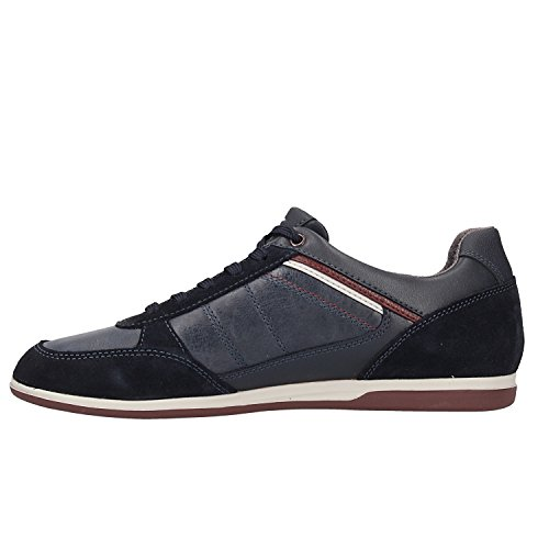 Geox Men's U Renan B Low-Top Sneakers Blue (Navy C4002) best place online cheap online store Manchester splMO2