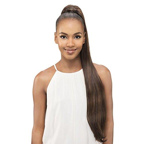 New Fiber (Vivica A Fox Hair Collection PB181-V New Futura Synthetic Fiber Pocket Bun, 1, 9.2 Ounce)