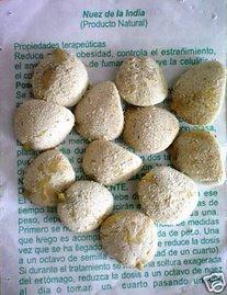 Nuez De La India 100% Original Authentic Indian Nut Weight Loss - 5 pack