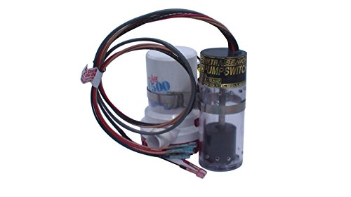 Ultra Safety Systems Pump Switch Sr. UPS-01-24/32 V Bilge Float Switch W/High Water Alarm - Part Safety Sensors