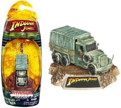 Indiana Jones Camión de Carga 3 Pulgadas Serie Titanio Raiders of The Lost Ark Vehículo Fundido a presión: Amazon.es: Juguetes y juegos