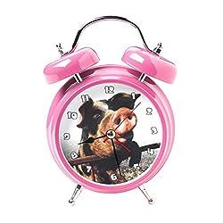 Mark Feldstein Wacky Wakers Pig Bedside Tabletop Alarm Sound Clock
