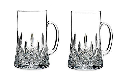 Waterford Lismore Connoisseur Beer Mugs (Set of 2)