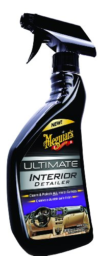 Meguiar's G16216 Ultimate Interior Detailer And Microfiber Cloths Bundle