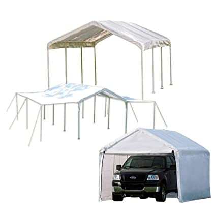 ShelterLogic MaxAP 3-in-1 Canopy with Enclosure and Extension Kits White  sc 1 st  Amazon.com & Amazon.com: ShelterLogic MaxAP 3-in-1 Canopy with Enclosure and ...