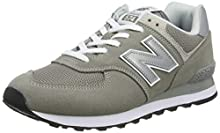 New Balance Men's Iconic 574 Sneaker, Grey, 10 D US