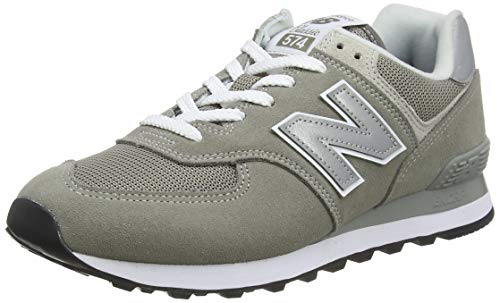 New Balance Men's Iconic 574 Sneaker, Grey, 6.5 D US