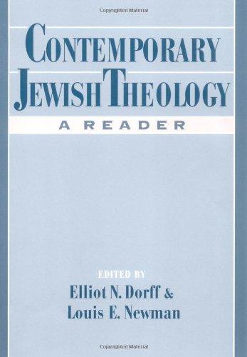 Contemporary Jewish Theology: A Reader