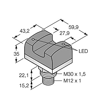 3067505 - vtbp6q, Opto sensor berührungstaster con iluminación: Amazon.es: Industria, empresas y ciencia