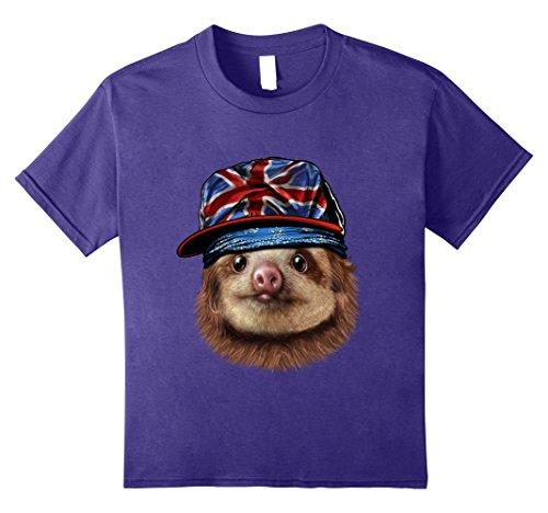 Men Hipster Hip Hop flag T shirt