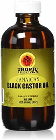 Tropic Isle Jamaican Black Castor Oil, 4 Oz Plastic PET Bottle