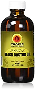 Tropic Isle Living- Jamaican Black Castor Oil-4oz Plastic P.E.T Bottle