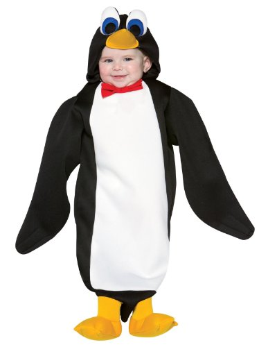 [WMU 546861 Penguin Adorable Bunting] (Baby Costumes Penguin)