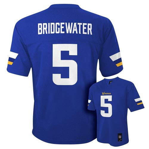 Teddy Bridgewater Minnesota Vikings # 5パープルNFL YouthホームMid Tier Jersey XL  B01N3O4YXA