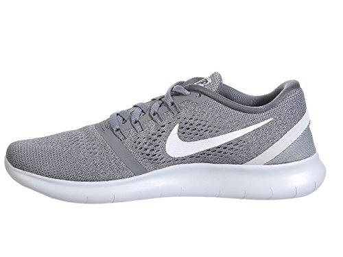 Nike Free Rn 831508 013 Kallt Grå / Vit-ren Platina