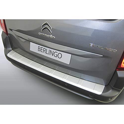 Paraurti Posteriore in ABS per Citro/ën Berlingo Multispace//Peugeot Rifter//Opel Combo Tour 2018 MPV Colore: Nero RGM RBP311R