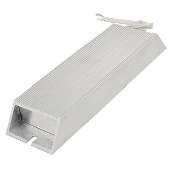 eDealMax a11111400ux0038 300W 100 Ohm 5% Carcasa de aluminio ...