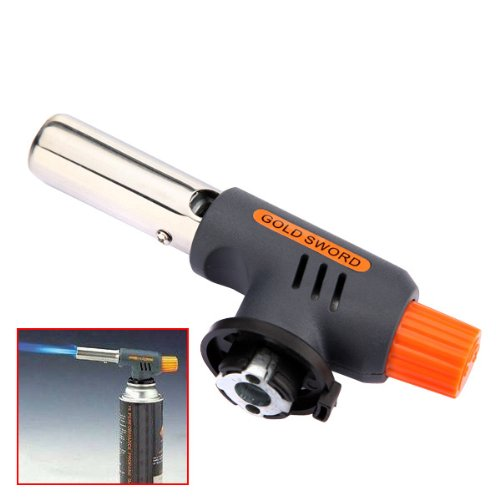 Gas Torch Butane Burner Auto Ignition Camping Welding Flamethrower by BSK B00SOVU36S