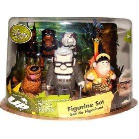 Amazon Com Disney Pixar Up Movie Up 7 Piece Figurine