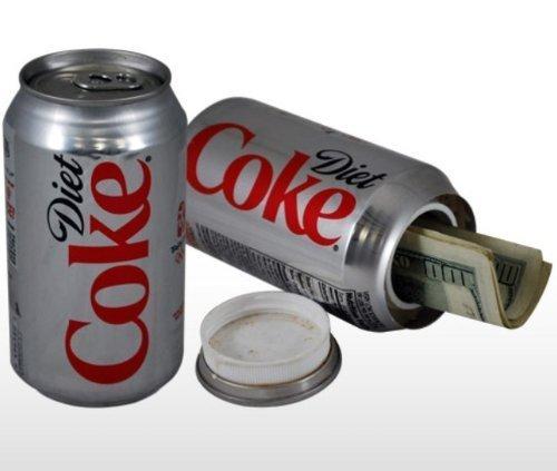 1 X Diet Coke Stash Safe Diversion Can,hidden safe,portable safe,security safe, Model: