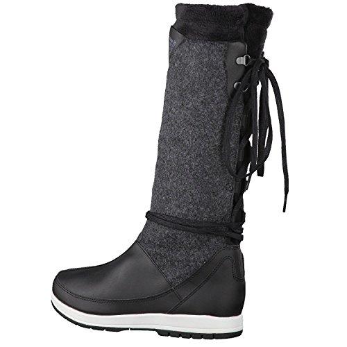 Adidas Damen Stiefel Winter Kawaya G62173 39 1/3 Schwarz ...