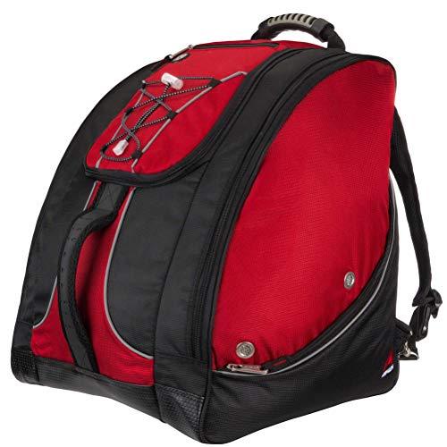 (Athalon Everything Ski Snowboard Boot Bag (Black & Red))