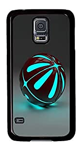 carrying Samsung S5 covers Ball 3D PC Black Custom Samsung Galaxy S5 Case Cover
