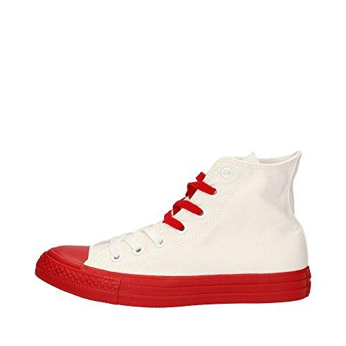 White Converse Rubber sneakers Canvas HI AS Bianco Rosso CT Color 156765C Casino unisex zZzOq1
