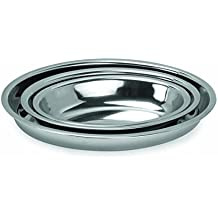 Chef Direct Stainless Steel Deep Oval Baking Dish Italian Style 35 Cm // Chef Direct