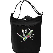 Swiss Knife Canvas Day Bag| 100% Premium Cotton Canvas| DTG Printing| Unique Handbags, Briefcases, Sacks & Custom Fashion Accessories For Men & Women