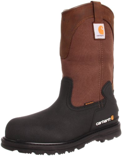 Carhartt Men's CMP1259 11 Mud Well Steel Toe Work Boot,Brown