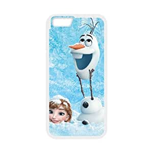 Frozen iPhone 6 Plus 5.5 Inch Cell Phone Case White Phone cover Q3285214