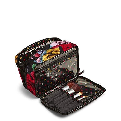 (Vera Bradley Large Blush & Brush Makeup Case, Havana Rose)
