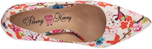 Penny Houdt Kenny Vrouwen Opus Sf Pomp Witte Bloemen