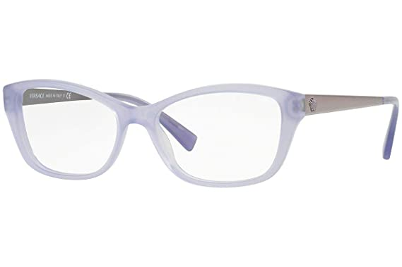 8bd3a5e4f85 Image Unavailable. Image not available for. Color  Versace VE3236 Eyeglasses  52-16-140 ...
