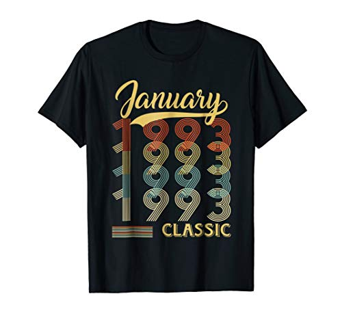 January 1993 26th Birthday Gift 26 Year Old For Men Women ()