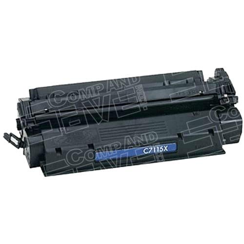 CompAndSave Replacement for HP C7115X (15X) High Yield Black Laser Toner ()