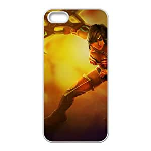 League of Legends(LOL) Sivir iPhone 4 4s Cell Phone Case White DIY Gift pxf005-3654820