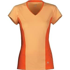 Mountain Hardwear Double Wicked Lite Short Sleeve T-Shirt - Women's Shirts MD Cara Cara