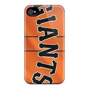 Premium Tpu San Francisco Giants Cover Skin For Iphone 4/4s