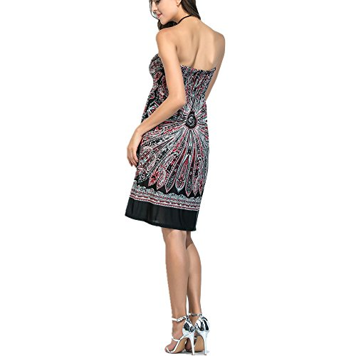 Grace Kalin - Vestido de playa para mujer, para cubrir el traje de baño, ropa holgada de baño con corte de cuello en V, para verano: Amazon.es: Ropa y ...